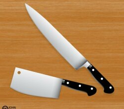 Free Vector Butcher Knife