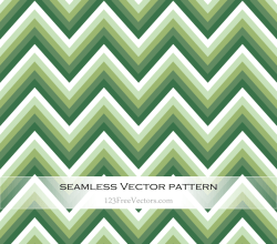 Green Zigzag Seamless Pattern Vector