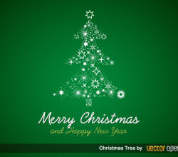 Christmas Tree Vector Free