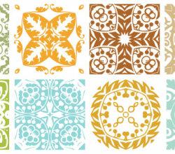 Vector Floral Patterns