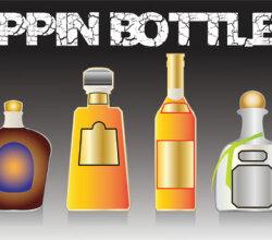 Poppin Bottles Vector Image