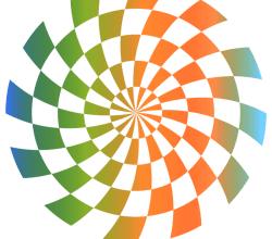 Optical Illusion Backdrop Vector