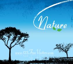 Nature Vector Wallpaper