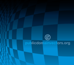 Blue Checkered Background Design