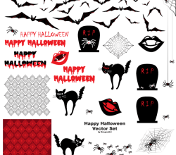 Happy Halloween Vectors