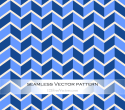 Zigzag Vector Pattern Design