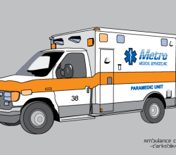 Vector Ambulance Image
