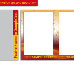 Vector Booklet Template