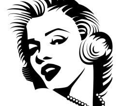 Marilyn Monroe Vector Image