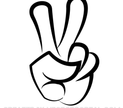 Victory Sign Image