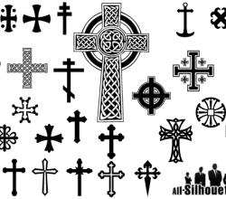 Free Crosses Vectors