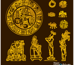 Vector Aztec/Mayan Elements Free Images