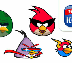 Vector Angry Birds