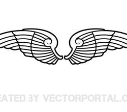 Vector Wings Art