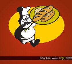 Bakery Logo Design Vector