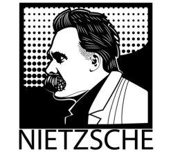 Friedrich Nietzsche Vector Image