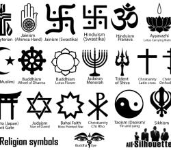 Free Religion Symbols Vector