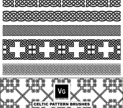 Free Vector Celtic Pattern Illustrator Brushes