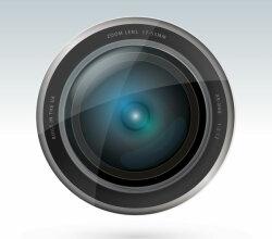 Vector Camera Lens Free