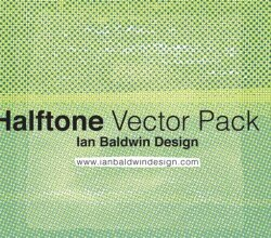 Vector Halftone Pattern Illustrator Pack