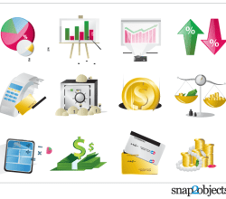 Free Financial Elements Vector Graphics