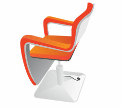 Vector Hairdressing Seat
