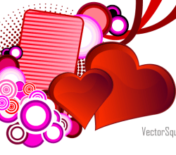 Vector Heart for St. Valentine's Day
