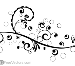 Vector Floral Design 4