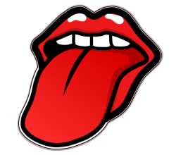 Rolling Stones Tongue Vector