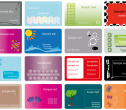 Business Card Vector Set