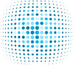 Blue Dot Background Illustrator