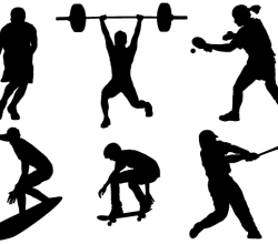 Free Vector Sport Silhouettes