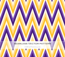 Yellow and Violet Zigzag Pattern Background