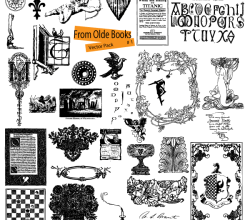 Free Ornaments Vector from Old Books