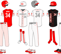 Vector Baseball Uniform Template