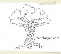 Free Vector Tree Earth Week