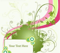 Free Floral Frame Vector