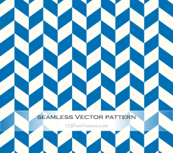 Blue and White Zig Zag Pattern Background