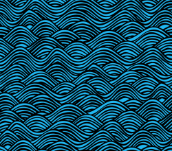 Vector Water Pattern