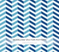 Blue Zig Zag Pattern Vector