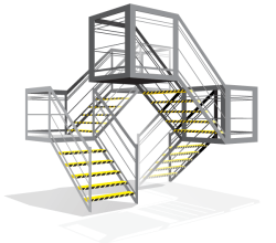 Vector Stairs Graphics