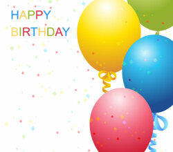 Birthday Template Free Vector