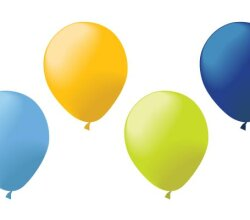 Balloons Vector Art