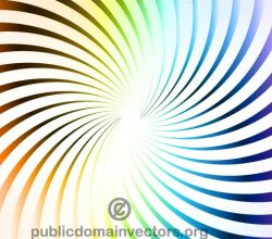 Colorful Radial Stripes Background
