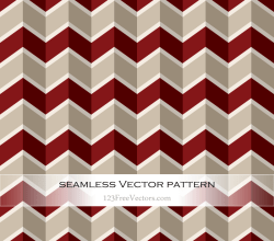 Vector Art Retro Chevron Pattern
