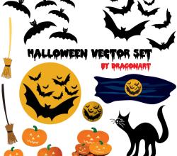 Halloween Vectors Free