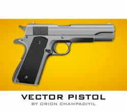 Free Pistol Icon Vector