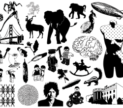 Free Vector Pack – Silhouettes