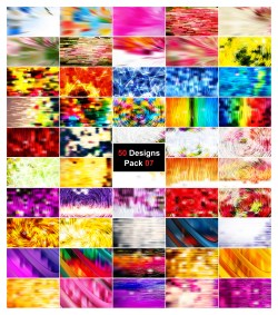 50 Abstract Lines Background Vector Pack 07