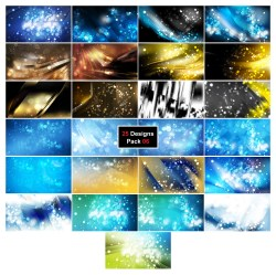 25 Blurry Lights Background 06